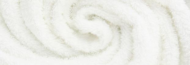 Le moelleux d'un tissu éponge haut de gamme